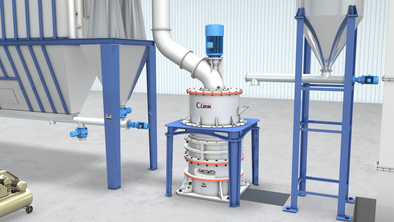 Calcined talc Micro powder grinding mill